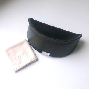 Hugo Boss Black Sunglasses Case Cleaning Cloth